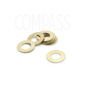 Brass Thrust Washers for Compass and Mafac Centerpull Brakes