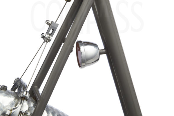 Compass LED Dynamo Taillight on Mule Bike