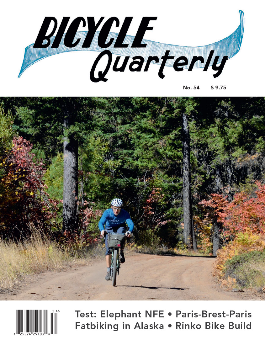Bicycle Quarterly Tables Of Contents Compass Bicycles Wiring Original No Longer Available In Uk Pocket Bike Forum Mini Bq 54 Cover