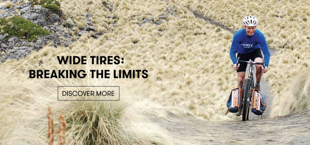 Wide Tires: Breaking the Limits