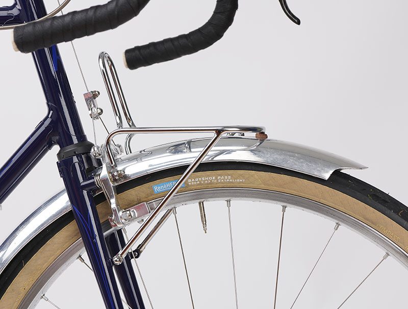 Wide Or Narrow Aluminium Bicycle Mudguard Bridge Bend to Fit SILVER